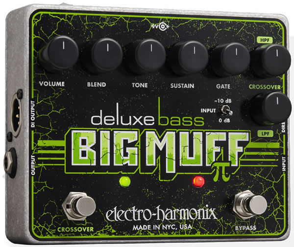 Expert Review: Electro-Harmonix Deluxe Bass Big Muff Pi Distortion/Sustainer