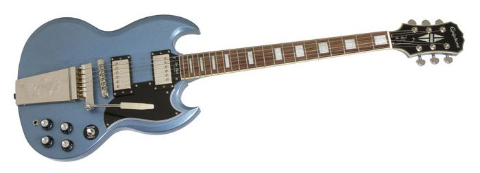 Epiphone Limited Edition SG Custom with Maestro Tailpiece