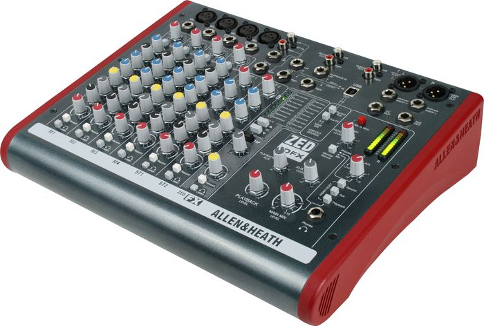 Allen & Heath ZED 10-FX 10-Channel USB Mixer