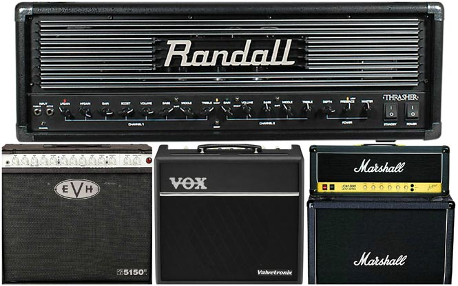 Nine Killer Guitar Amps for Metal