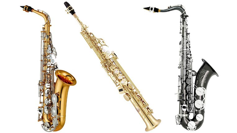 Assorted Saxophones