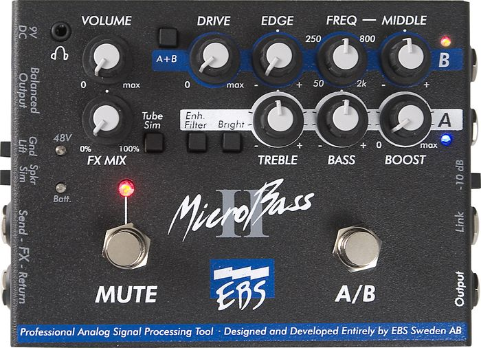 EBS Microbass Pedal Preamp