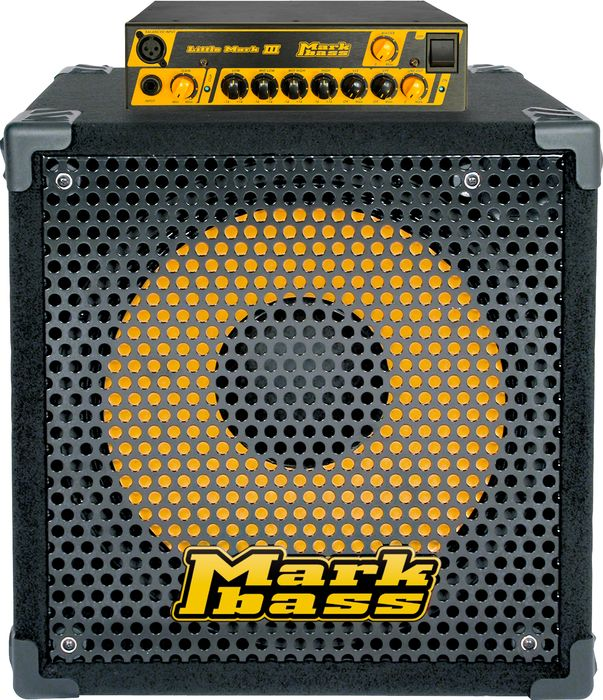 Markbass Little Mark III and New York 151 Bass Stack Amp