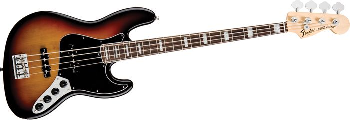Fender American Deluxe Jazz Bass Guitar