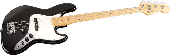 fender standard jazz bass black