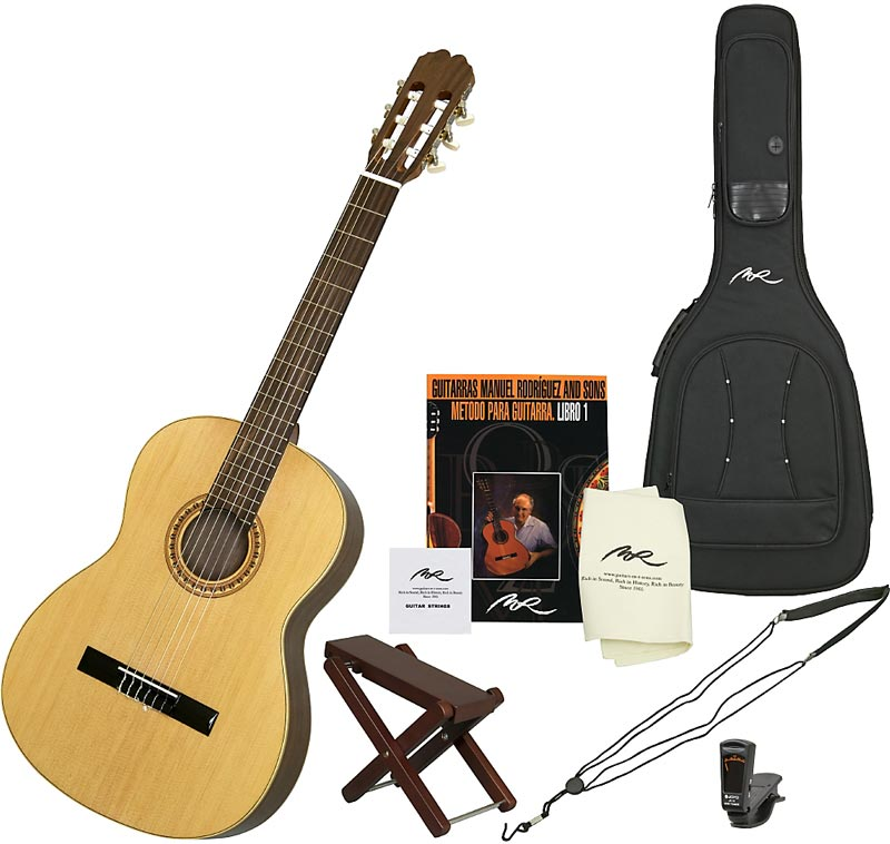Manuel Rodriguez Caballero 10 Nylon-String Acoustic Guitar Pack
