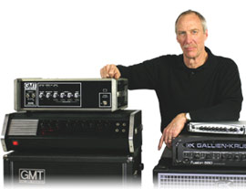 Bob Gallien of Gallien-Krueger