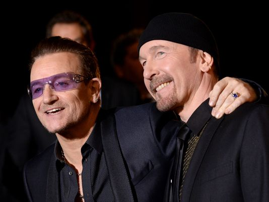 Bono and The Edge Get on Board with Fender