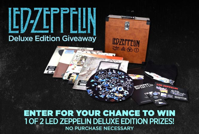 Win A Killer Led Zeppelin Lp Or Cd Collection The Hub