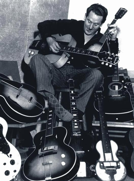 Les Paul and His Guitars