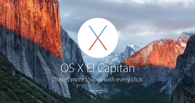 El Capitan Software Compatibility