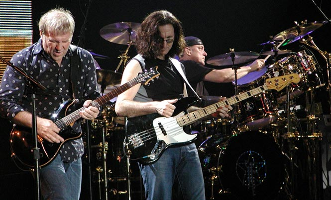 Rush Celebrates 4 Decades with the Same Lineup