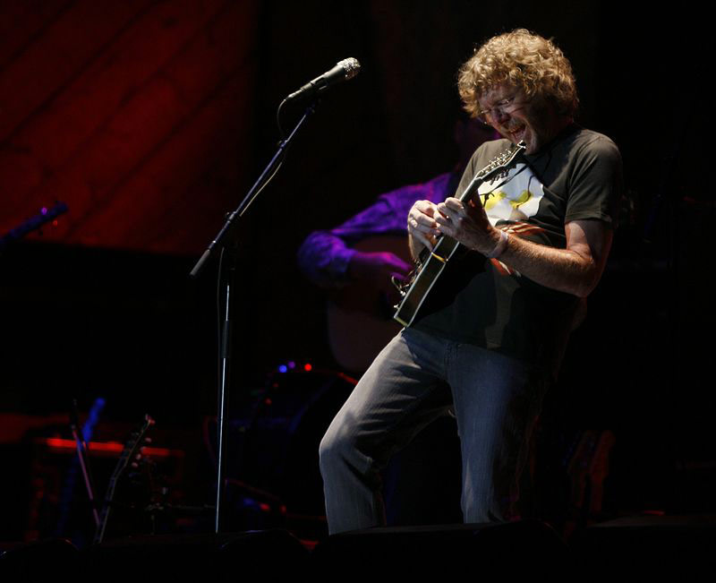 Sam Bush's 40th Telluride Show Capped by a Gibson Tribute Anniversary Mandolin