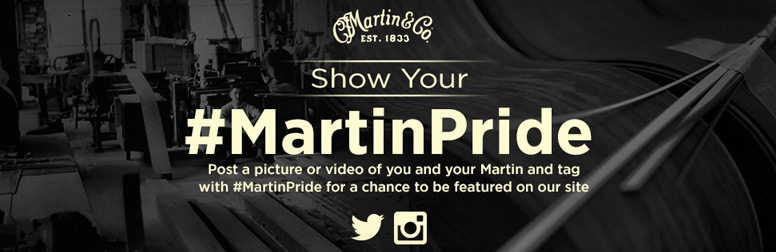 Martin Lovers: Show Off Your Pride and Joy to the World!