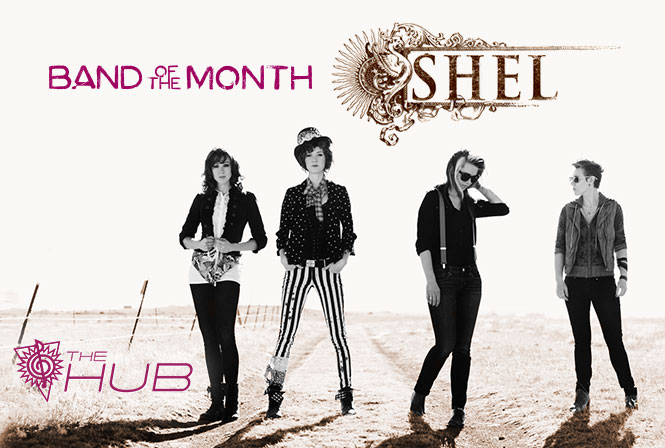 April Band of the Month - SHEL