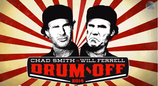Ferrell Vanquishes Smith in Drum-Off of the Century!