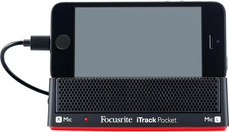 Focusrite iTrack Pocket iPhone Interface Review