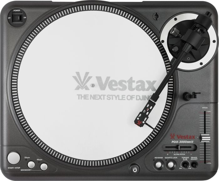 Vestax PDX-3000mkII Direct Drive Turntable