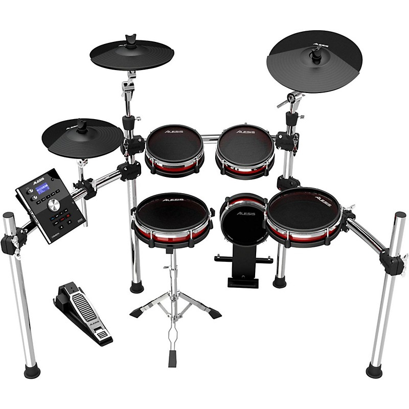 Buying guide how to choose electronic drums sets the hub alesis crimson electronic 5 piece drum kit with mesh heads solutioingenieria Images