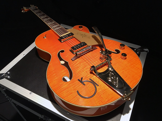 Gretsch 6120 with Bigsby Vibrato
