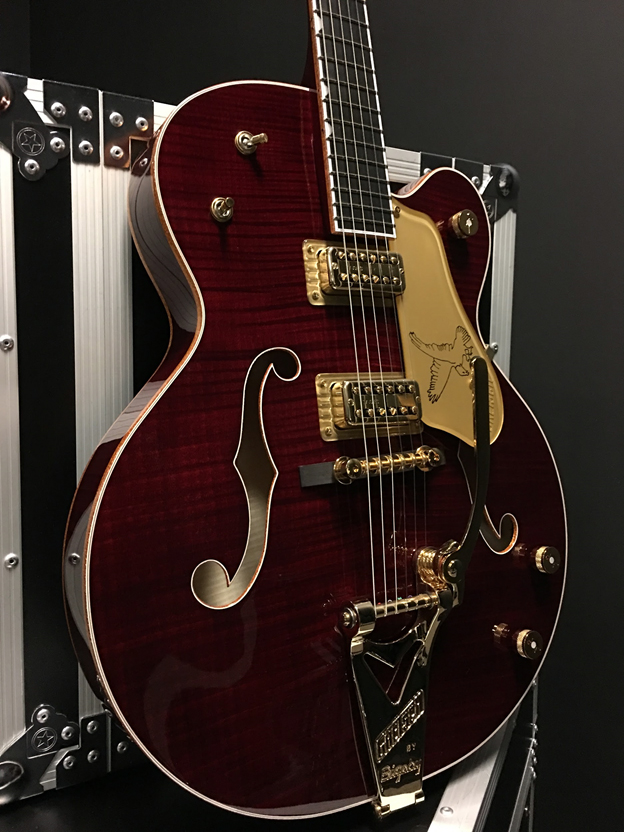 Gretsch Guitars G6136TFM-DCHY Limited Edition Falcon