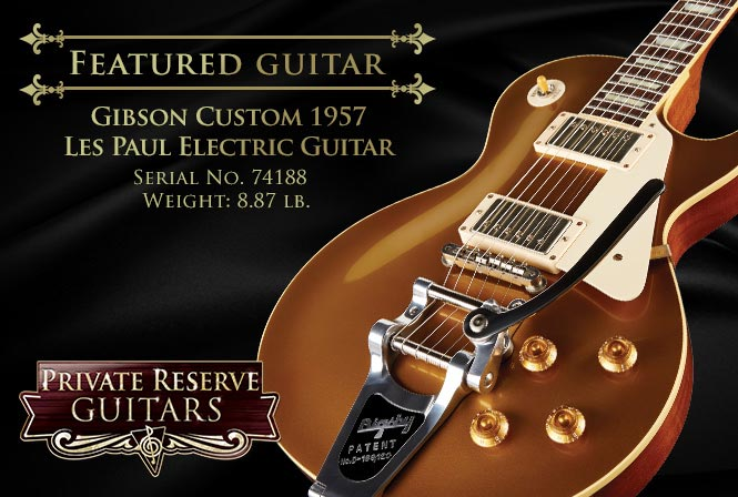 Gibson Custom 1957 Les Paul Reissue VOS Electric Guitar with Bigsby