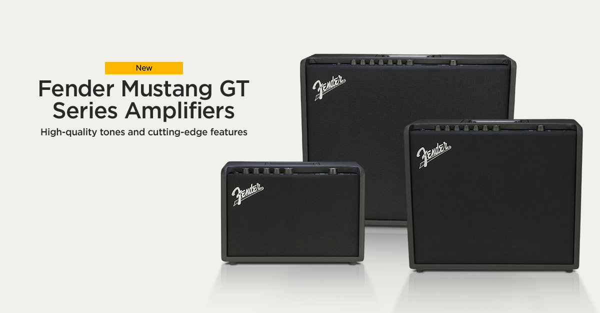 Fender Mustang GT Series Guitar Amplifiers