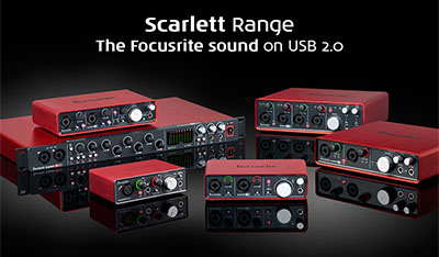 Product Spotlight: Focusrite Generation 2 Scarlett Interfaces
