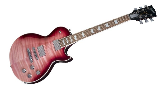 Unveiled the 2018 gibson usa electric guitar lineup the hub gibson les paul standard hp hot pink fade 2018 asfbconference2016 Images