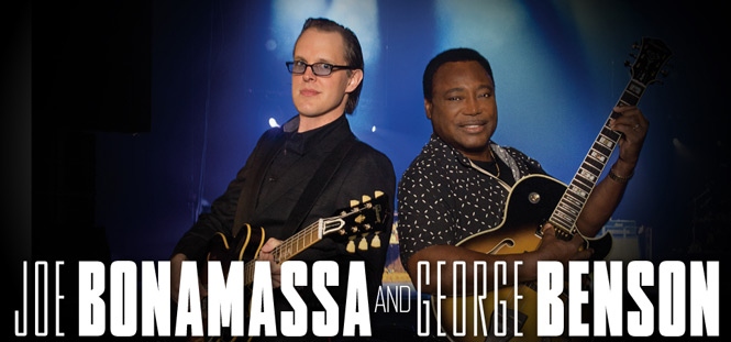 Joe Bonamassa and George Benson Interview