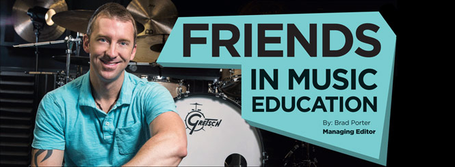 Friends in Music Education: Mike Johnston