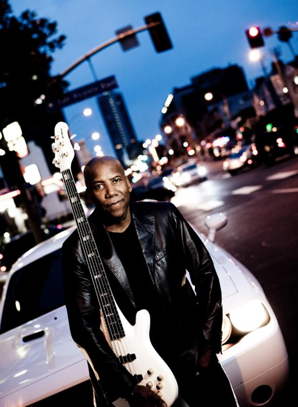 Nathan East and his Yamaha BBNE2 Bass