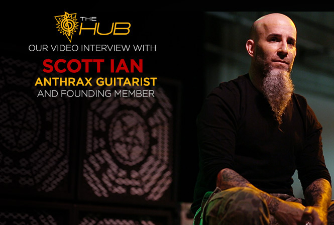Scott Ian of Anthrax: 34 Years of Thrash