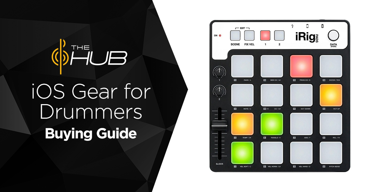 iOS Gear for Drummers Buying Guide