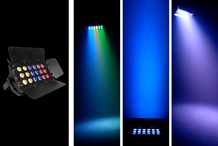Chauvet SlimBANK Tri-18 Color LED Wash Lights