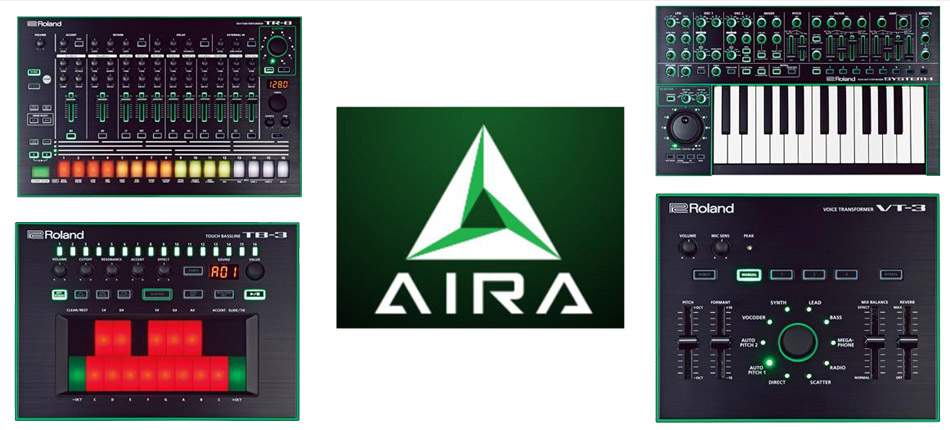 Back to the Future: Roland Rolls Out AIRA