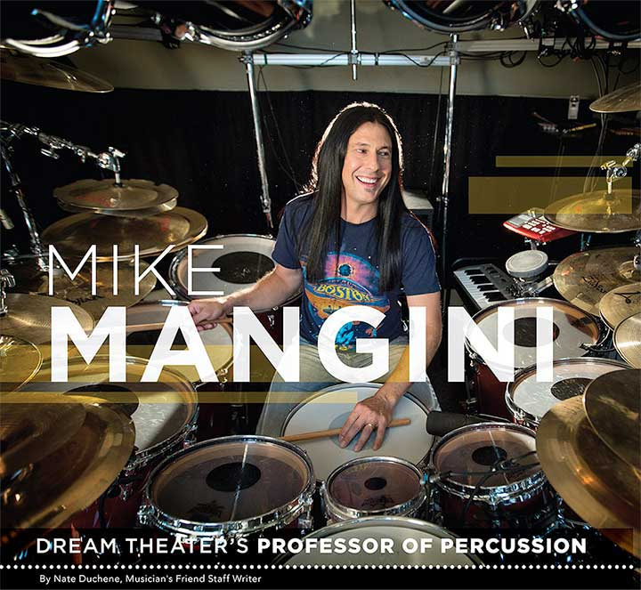 Mike Mangini of Dream Theater