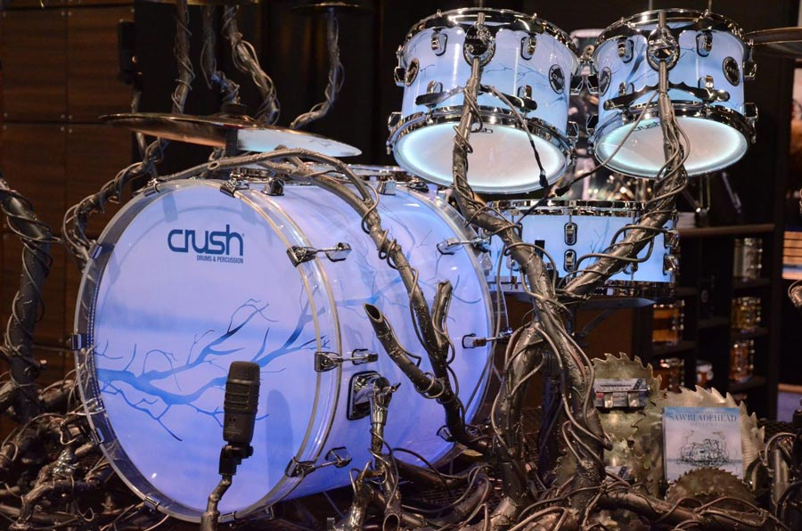 Crush Drums Tree of Life Drum Kit