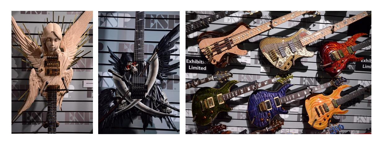Hand-Carved ESP LTD Electric Guitars