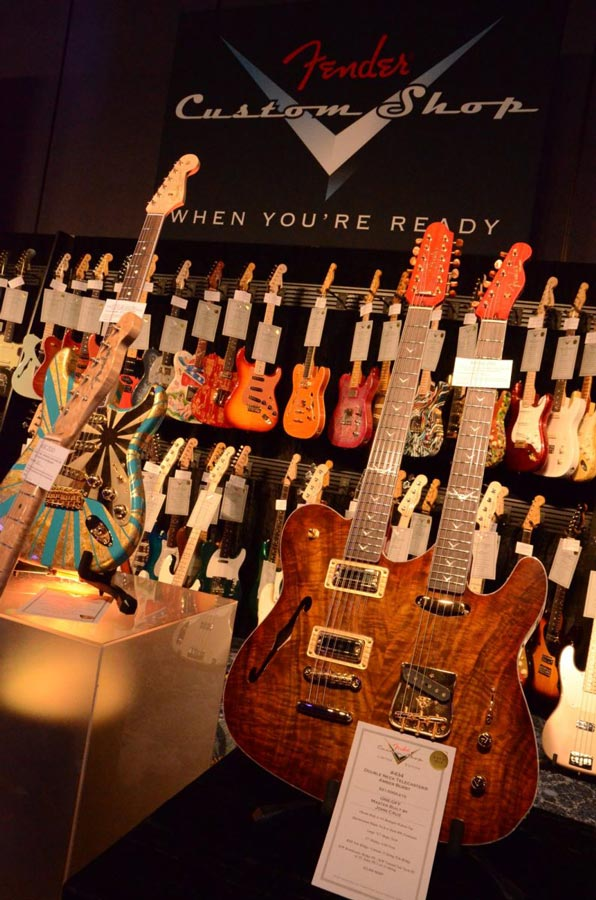 Fender Custom Shop Display