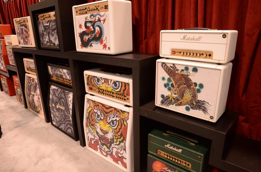 Marshall's Limited Edition 2014 Custom Shop Tattoo Series