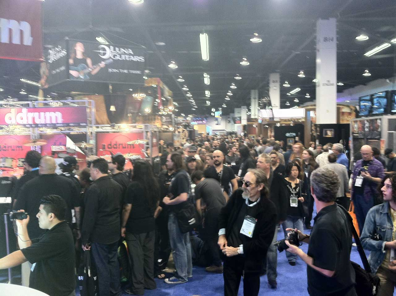Namm 2014 Halls Still Packed