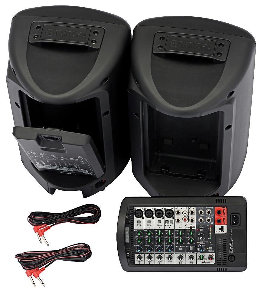sound system speakers. yamaha stagepas 400i portable pa system sound speakers i