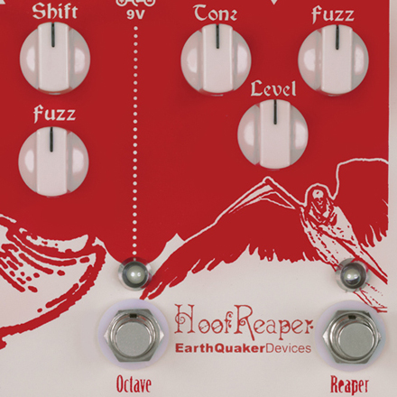 EarthQuaker Hoof Reaper Octave Fuzz Pedal
