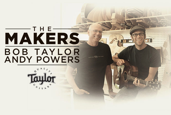 Bob Taylor and Andy Powers of Taylor Guitars