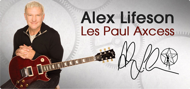 Gibson Custom Alex Lifeson Les Paul Axcess Review