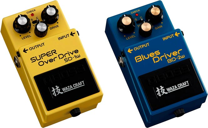 Review: BOSS Waza Craft SD-1W SUPER OverDrive and BD-2W Blues Driver