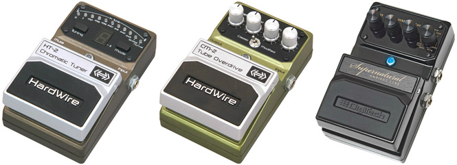 Review: DigiTech HardWire Pedals