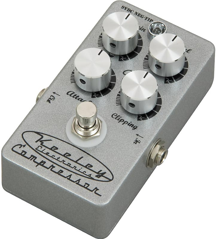 Review: Keeley 4-Knob Compressor