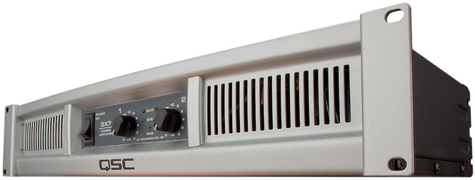 QSC GX7a Power Amp